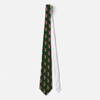 Cravate Le père noël avec le drapeau de Phoenix