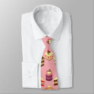 Cravate Le thé coloré mignon durcit le motif