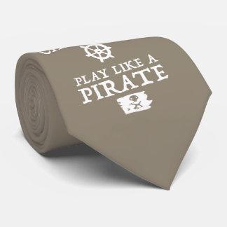 Cravate Le travail comme un capitaine, jeu aiment un