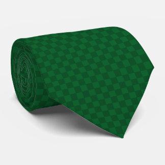 Cravate Le vert de Jour de la Saint Patrick vérifie la