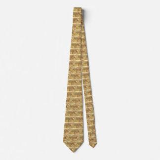 Cravate Le yard et la blanchisserie du charpentier par