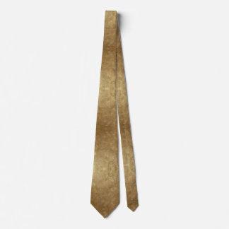 Cravate Les nuances des mélanges d'or ont mélangé des