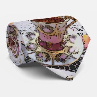 Cravate L'heure du thé