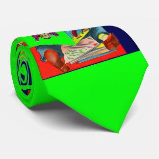 Cravate livre du sci fi de lecture de garçon de cadet de