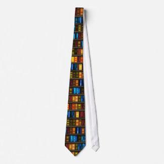 Cravate Livres dans la bibliothèque. Pour des professeurs