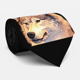 Cravate Loup