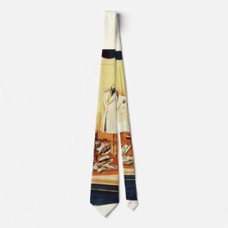 Cravate Magasin de détail d'affaires vintages,