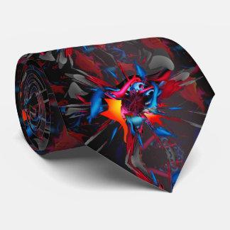 Cravate Marche sur le verre cassé