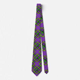 Cravate modelé par mardi gras de la Louisiane