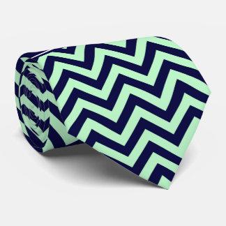 Cravate Monogramme en bon état de nom de bleu marine