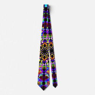 Cravate Mosaïque colorée