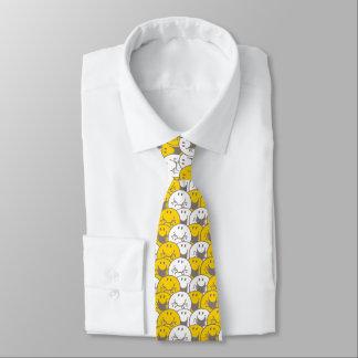 Cravate Motif de clignotant de sourires de M. Happy |