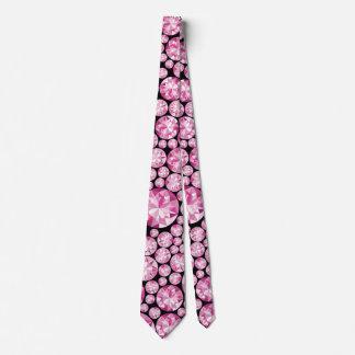 Cravate Motif rose luxueux de diamant
