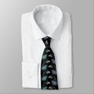 Cravate Motif traditionnel de Goth de conspiration