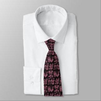 Cravate Motif vintage de Pyrex - rose de Butterprint