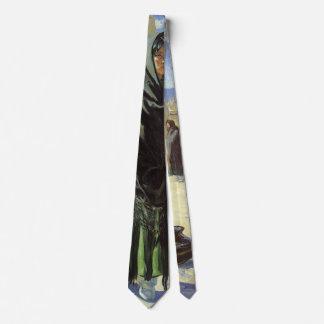 Cravate Natif américain vintage, filles de Taos par Walter