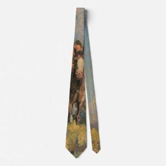 Cravate Natifs américains vintages, annexe de corneille