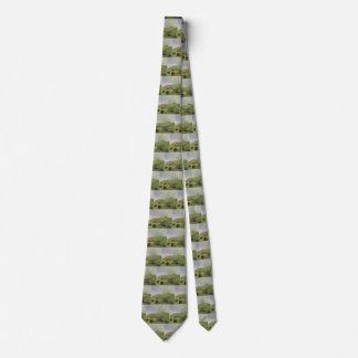 Cravate Natifs américains vintages, chasse de Buffalo par