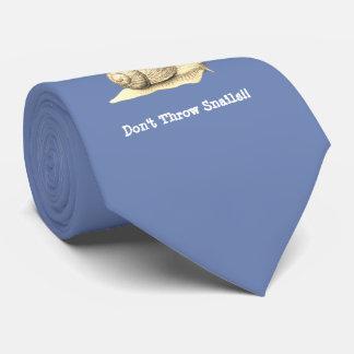 Cravate Ne jetez pas les escargots