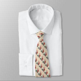Cravate Noël de père enveloppant l'art d'original de
