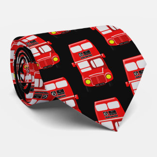 Cravate Noir de conception d'autobus