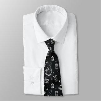 Cravate Noir de temps de thé•Double face