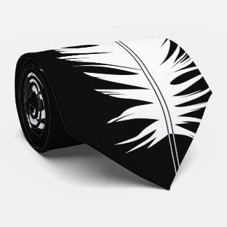 Cravate Noir, Ravens et plume