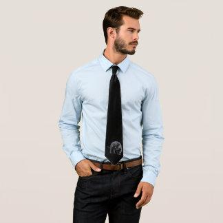 Cravate noire d'affaires de Jaguar Diablo