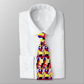 Cravate noire d'affaires du contrôle V d'Outta