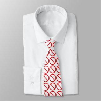 Cravate non permis de signe