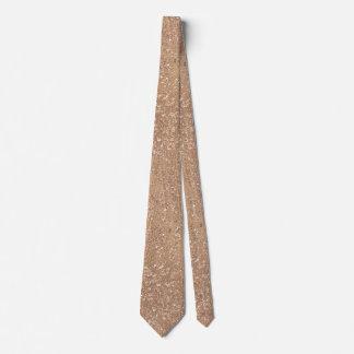 Cravate Or rose balayé