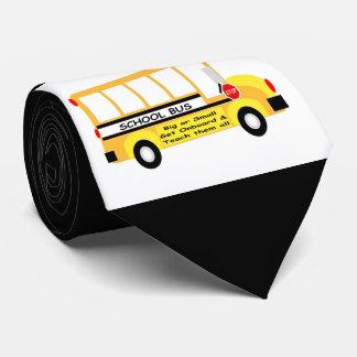 Cravate Parents + Professeurs = succès d'étudiant (noir)
