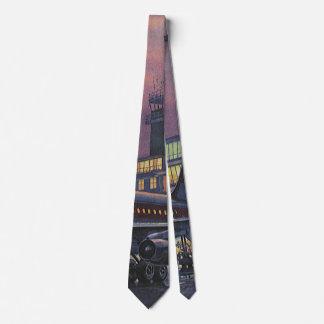 Cravate Passagers vintages d'affaires sur l'avion à