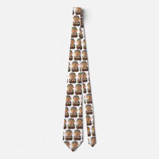 Cravate Patriotique vintage, enfants dans un ballon à air