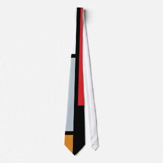Cravate Piet Mondrian - composition avec le grand avion
