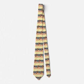 Cravate Pirates vintages, abandonnés sur une île