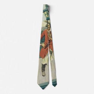 Cravate Pirates vintages, capitaine Keitt par Howard Pyle