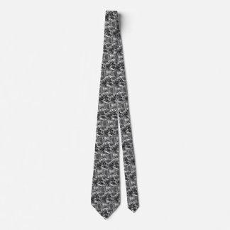 Cravate Pirates vintages combattant et buvant sur le