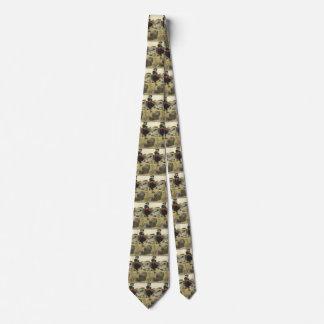 Cravate Pirates vintages, William Kidd enterrant le trésor
