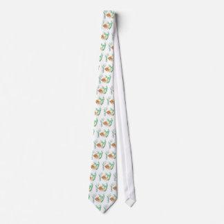 Cravate Poisson rouge