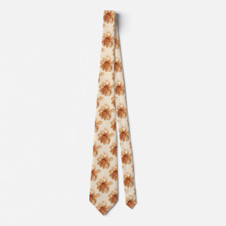Cravate Poulpe vintage Salutii, animaux aquatiques marins