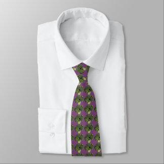 Cravate pourpre de brocoli