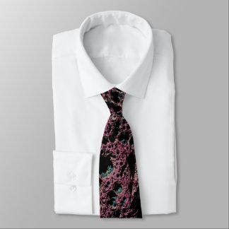 Cravate pourpre de fractale de lave