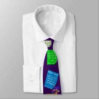 Cravate Prescriptions hilares de pharmacien pourpres