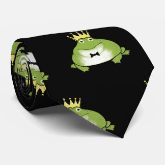 Cravate Prince Pattern de grenouille