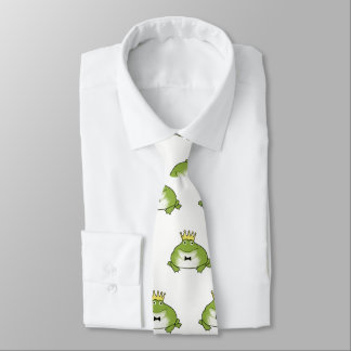 Cravate Prince Pattern de grenouille