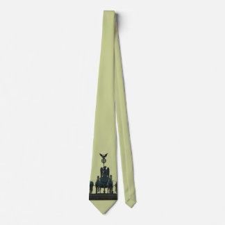 Cravate Quadriga de BERLIN à la Porte de Brandebourg 2,5