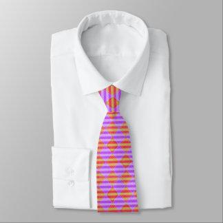 Cravate Rayures, diamants, motif de tache par Shirley