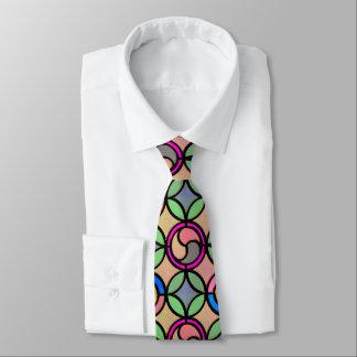 Cravate Regard en verre souillé