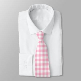 Cravate rose et blanche de contrôle de Buffalo